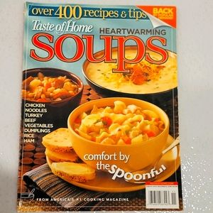 ⭐2/$20⭐Taste if Home 400 Soup Recipes Book